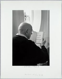 Duane Michals; I Think about Thinking, 2000 © Duane Michals; The Henry L. Hillman Fund. Courtesy of Carnegie Museum of Art, Pittsburgh