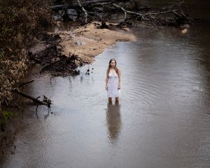 Untitled - Woman in the River