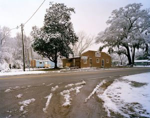 L. Jay's Barber Shop and Convenience Store, Highway 174                                       © Eliot Dudik