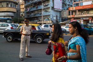two hijras during Mumbai's gay pride march  © Alison McCauley