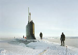 Ship Divers, USS New Hampshire, Arctic Seas, 2011