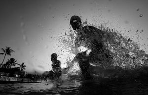 1st prize Sports Action Stories. © Donald Miralle, Jr., USA.  Ironman World Championships, Hawaii