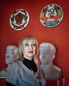 Irina Smirnova – Director of The Museum of The Transnistrian National Tragedy at Bendery
