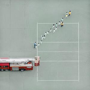 Chai Wan Fire Station.