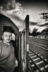driver's portrait