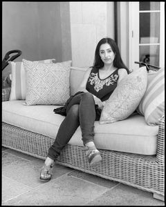 """My parents spoke to me in Arabic but I always responded in English.""  Dounya Kardoush Matar. Interior Designer. Nazareth & Jerusalem, Palestine to Hillsborough, CA."