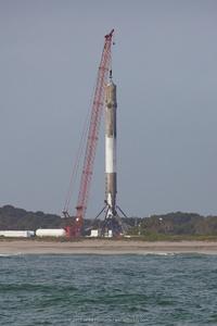 Soot-streaked Rocket