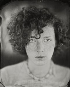 """Erica."" 8x10""  Wet-plate collodion tintype. © 2010 Keliy Anderson-Staley"