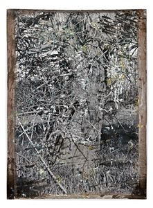 Untitled Kleinmachnow, 2012, 176 x 127 cm, Silver Gelatin Print, Mixed Media © Jeff Cowen