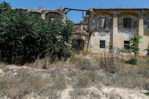 Destroyed St. Panteleimon Monastery