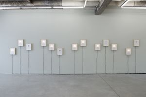 "Exhibition View-""Chan"" Part 1, Installation of 13 photographic pieces © Aixia Li"