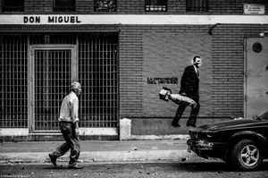 DON MIGUEL THE WALKER AND THE BOMB.