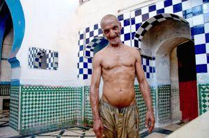 The Gommeur Savoneur. Meknes, Morocco
