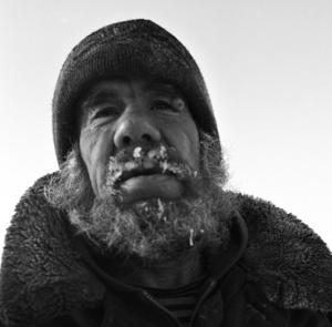 Victor. After having been divorced he lives in taiga hut, near the village. Sredniy Vasyugan.Tomsk region. Russia. 2009.