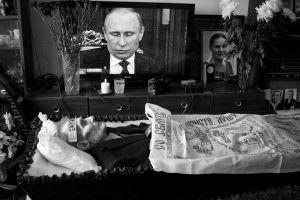 When my grandfather passed away, Samara, Russia, 2014