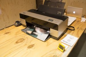 Step 2: Printing images in Amsterdam