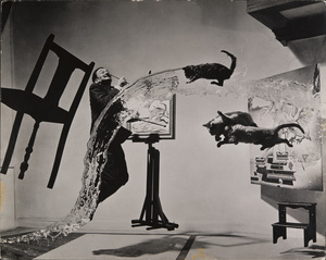 Dalí Atomicus, 1948 © 2015, Philippe Halsman Archive / Magnum Photos. Exclusive rights for images of Salvador Dalí: Fundació Gala-Salvador Dalí, Figueres, 2015