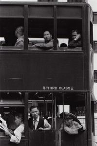 Tram, Hong Kong, 1958 © Shigeichi Nagano