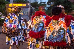 Ipanema, Rio de Janeiro Carnival, Brazil.