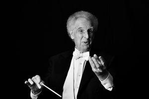 Conductor Benjamin Zander Portrait Session