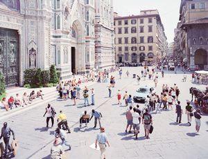 Firenze via via, #0347. © Massimo Vitali