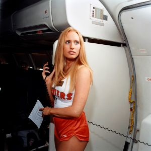 Sarah, Hooters Air, 2005 © Brian Finke