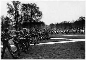 Cambodia Invasion Riot, Ohio, 1970