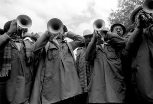"""Trumpet Players, Exhumation Festival"" Andoabatonomby 1996"