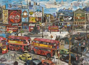 Piccadilly Circus (Postcards from Nowhere), 2014. Showing at Ben Brown Fine Arts. Courtesy of PhotoLondon.