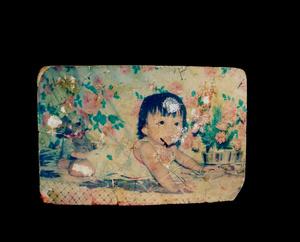 Nguyên Lê Phu'o'ng Quy` nh as an infant.