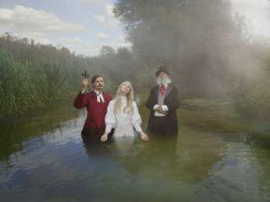 Baptisms along the Thames