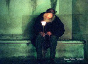 Pilgrim at Fatima