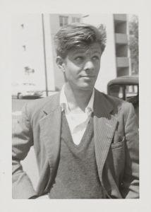 Peter Orlovsky, 1955 © Allen Ginsberg