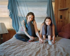 Kate and Cora, Porter Maine, 2014