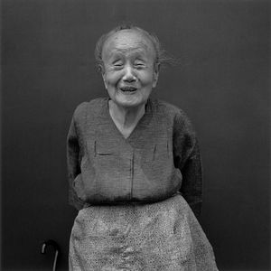 A smiling old lady, 1986 © Hiroh Kikai from Asakusa Portraits, courtesy of Steidl