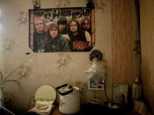 Dormitory interior.