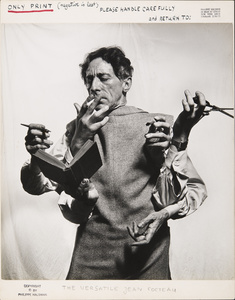The Versatile Jean Cocteau, 1949. Archives Philippe Halsman © 2015, Philippe Halsman Archive / Magnum Photos