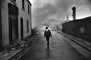 "Northern Ireland. 1972. From the book ""War Photographer: Between Shadow and Light"" © Christine Spengler"