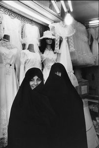 "Iran. Tehran. Bazaar. 1979. From the book ""War Photographer: Between Shadow and Light"" © Christine Spengler"