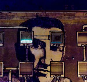 Wall in Reggio Emilia, Italy