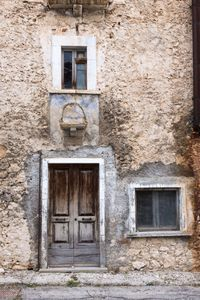 Mountain village detail, Abruzzo, Italy