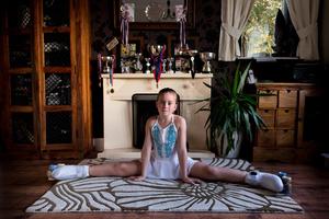 Molly, Artistic Roller Skater, 2015