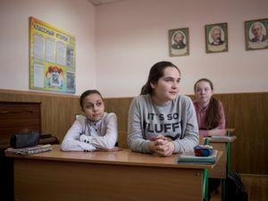 Donetsk's students.