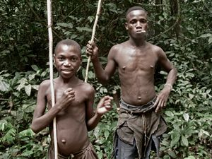 Baaka Pygmees, N'Gotto Protected Area, Central African Republic 4