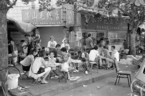 The chair, Chunheyuan Noodle House, Xushensi Road, South district, Qingdao, Shandong Province © Kate Shortt