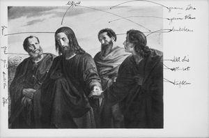 Aby Warburg Institute 2015 /Joseph von Führich, Gang nach dem Ölberg, 1839