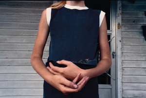 Girl Holding Blackberries, 1975