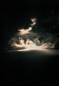 "Waterfall #8. From the series ""Lights/Water/Conglomerate"""