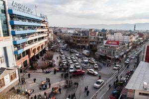 22/12/14 -- Sulaimaniyah, Iraq -- A view of As Haba Spi and Kawa Street, downtown Sulaimaniyah.