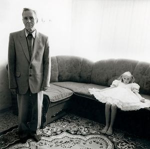 Grandfather, Russia, 2003, from Strangely Familiar by Michal Chelbin, Aperture 2008 © Michal Chelbin